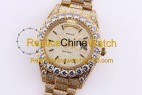 76#1303 SF Factory Rolex Oyster Perpetual Pearlmaster 39 316 Material 43MM 410USD