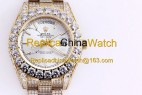 100#1203 SF Factory Rolex Oyster Perpetual Pearlmaster 39 316 Material 43MM 375USD