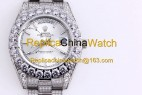 119#1203 SF Factory Rolex Oyster Perpetual Pearlmaster 39 316 Material 43MM 375USD