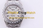 103#1303 SF Factory Rolex  Oyster Perpetual Pearlmaster 39  316 Material  43MM   410USD