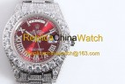 108#1203 SF Factory Rolex  Oyster Perpetual Pearlmaster 39  316 Material  43MM   375USD