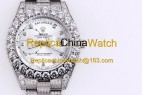 110#1203 SF Factory Rolex Oyster Perpetual Pearlmaster 39 316 Material 43MM 375USD