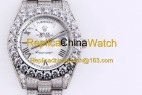 122#1203 SF Factory Rolex Oyster Perpetual Pearlmaster 39 316 Material 43MM 375USD