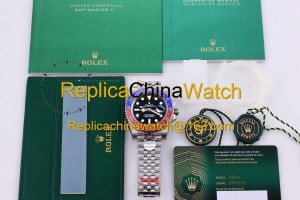 21#1306 Rolex SF Factory m126710blro-0001 GMT-MASTER II Cal.3186 Automatic Movement 400$