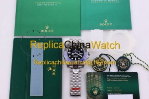 21#1304 Rolex SF Factory m126710blnr-0002 GMT-MASTER II Cal.3186 Automatic Movement 400$