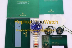 21#1205 Rolex SF factory 116613LB-97203 Submariner Series Cal.3135 Automatic Movement 380$