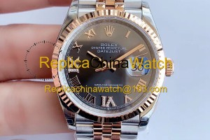 2158#1126 Rolex EW factory m126231-0023 Datejust Series Cal.3235 Automatic Movement 320$