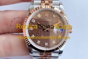 2159#1129 Rolex EW factory m126231-0025 Datejust Series Cal.3235 Automatic Movement 320$