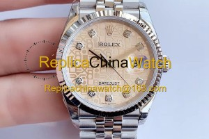 2119#1119 Rolex EW factory m126234-0023 Datejust Series Cal.3235 Automatic Movement 300$