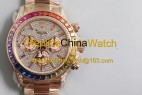 142#JH factory Rolex 116595 RBOW 4130 movement