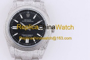 364#150-3 SF factory Rolex m124300 41mm 316 stainless steel 470 US dollars