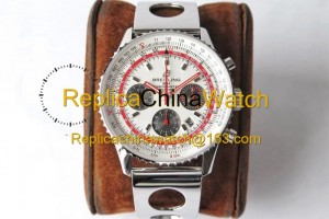74# BL Factory Breitling Aviation Chronograph 1 AB01219A1G1X1 43mm 7750 movement 316L steel