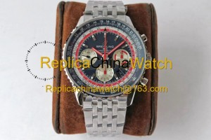 75# BL Factory Breitling Aviation Chronograph 1 AB01219A1G1X1 43mm 7750 movement 316L steel