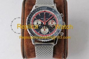 76# BL Factory Breitling Aviation Chronograph 1 AB01219A1G1X1 43mm 7750 movement 316L steel