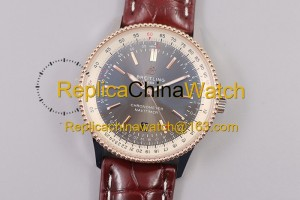 78# TF Factory Breitling Aviation Chronograph 1 A17326241B1P1 41mm 2824 movement 904L steel