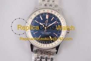 87# TF Factory Breitling Aviation Chronograph 1 A17326241B1P1 41mm 2824 movement 904L steel