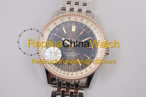 85# TF Factory Breitling Aviation Chronograph 1 A17326241B1P1 41mm 2824 movement 904L steel
