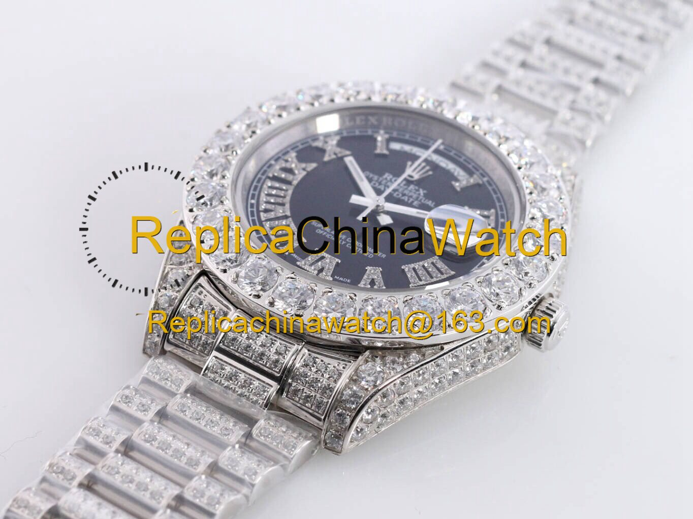 109#1203 SF Factory Rolex  Oyster Perpetual Pearlmaster 39  316 Material  43MM   375USD