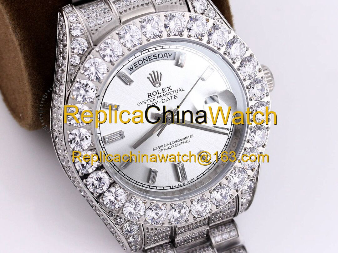 117#1203 SF Factory Rolex Oyster Perpetual Pearlmaster 39 316 Material 43MM 375USD